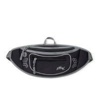 跑步腰包潜水料贴身隐形户外 运动腰包腰带骑行手机跑步包 黑色 10寸