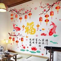 客厅电视背景墙贴纸自粘墙纸卧室温馨墙壁纸装饰餐厅壁画墙画贴画