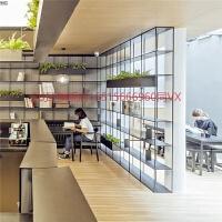 旗舰店北欧靠墙铁艺隔板置物架转角书架客厅卧室多层落地隔断架家用货架