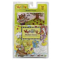 Wee Sing Mother Goose鹅妈妈的歌谣 书 CD 英语童谣系列: 音乐童话 经典有趣的儿童童谣 适合所