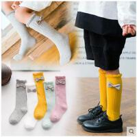 秋冬季长筒男女童棉袜堆堆打底袜高筒儿童纯棉袜子2-4-5-7-8-11岁