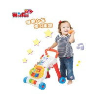 英纷婴儿宝宝学步车 儿童手推车多功能音乐琴早教益智学步玩具