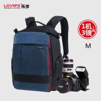 LOVEPS单反相机包佳能摄影包双肩包尼康防水大容量旅行背包