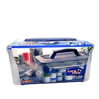 乐扣乐扣保鲜盒5L医疗箱药盒大容量相机密封整理收纳盒HPL891
