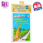 【中商原版】[英文原版] Danny and the Dinosaur Go to Camp Book and CD/