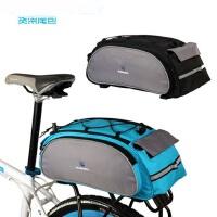 多功能骑行包单肩背挂包 山地车后货架包 尾包 自行车驮包 户外骑行自行车前包