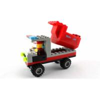 翻斗车工程车模型拆装益智幼儿儿童玩具塑料积木万格正品拼插拼装