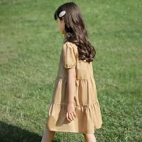 女童连衣裙夏公主裙夏装儿童裙子童装女大童夏季