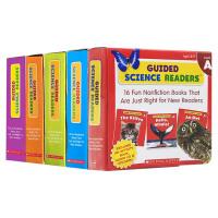 Guided Science Readers Level A-F 学乐科学指导读本系列套装ABCDEF级5盒 英文原版