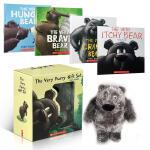 英文原版 儿童绘本 The Very Furry Gift Set(4册+1CD+主题毛绒玩偶)礼盒装 儿童启蒙学习英