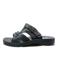 双星沙滩鞋男款PU面运动凉鞋时尚百搭休闲凉拖鞋子男两用鞋