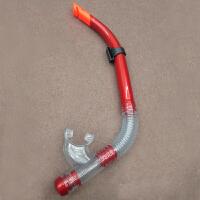 呼吸管自由泳 浮潜湿式呼吸管 潜水呼吸管 CX 金属红 P