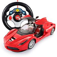 遥控车可一键开门漂移赛车汽车模型充电玩具儿童男孩玩具节日礼物