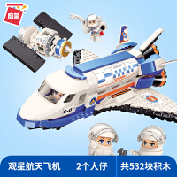 积木兼容乐高玩具男孩拼装航天系列模型儿童益智拼插飞机拼图