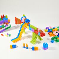 大号子弹头积木塑料拼插幼儿园早教益智男孩女儿童玩具3-6周岁4-7