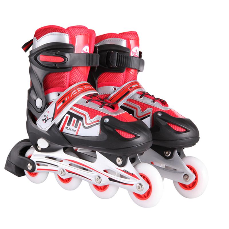 2016春季新款儿童平花鞋轮滑鞋可调节全套装滑冰鞋男女儿童溜冰鞋直排旱冰鞋