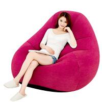 充气沙发单人懒人沙发椅可爱办公室卧室休闲气垫沙发床躺椅新品