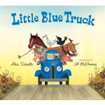 【预订】Little Blue Truck Lap Board Book