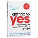 【中商原版】获得肯定 英文原版 Getting to yes by Roger Fisher 罗杰.费希尔 经管营销