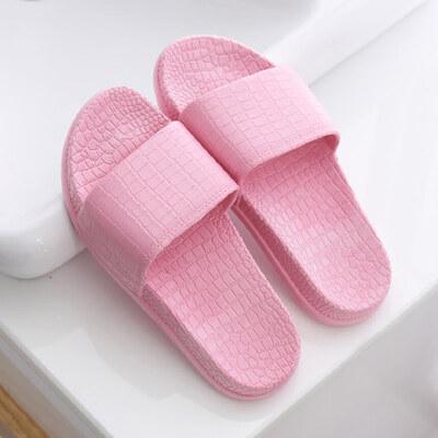 浴室拖鞋女家居家室内地板防滑厚底情侣洗澡塑料凉拖鞋男