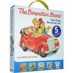 The Berenstain Bears 英文原版绘本 贝贝熊 5册盒装 少儿英语读物