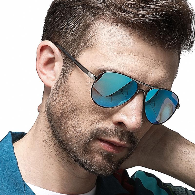 墨镜男士偏光太阳镜2019新款潮人开车司机驾驶钓鱼眼睛潮个性眼镜