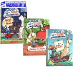 英文原版小说入门级 学乐大树系列桥梁书 Haggis and tank unleashed 3册套装 Scholast