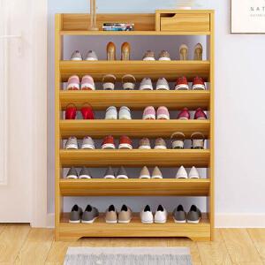 鞋架 简易家用室内落地鞋柜客厅卧室创意多层置物架多功能防尘经济型省空间收纳架