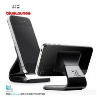 木晖 iPhone5 /4s桌面手机支架 汽车支架 不用胶的吸力支架