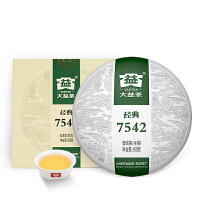 大益普洱茶�~ 7542��U生茶150g勐海茶�S口�Z茶�
