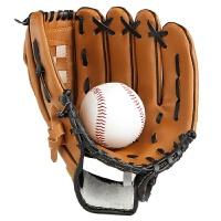 棒球套装捕手投手 加厚 内野投手棒球手套 垒球手套 儿童少年全款 CX 左撇子