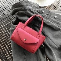 韩国小包包春新款时尚女包休闲手提包通勤潮哑光斜挎包单肩包
