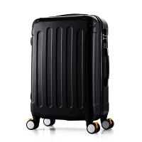 万向轮旅行箱20/24/28寸箱包女拉杆箱男士皮箱密码箱子登机行李箱SN9977 白色 20寸+送赠品