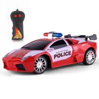 车模型 儿童电动遥控车 仿真警车二通遥控汽车玩具