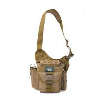 多功能战术斜挎包户外鞍袋包男迷彩单肩摄影相机包腰包女