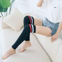 护膝保暖加长款夏季薄款无痕防滑空调房关节护腿炎男女士运动袜套 均码