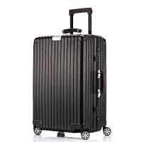 复古铝框拉杆箱万向轮行李箱 男士女士海关锁登机箱20/24/26/旅行箱SN995