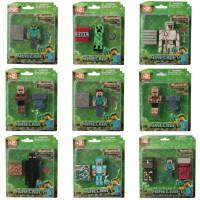 兼容乐高我的世界玩具模型拼装积木人偶公仔僵尸Minecraft小人仔儿童