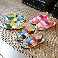儿童凉鞋男童童鞋女童凉鞋宝宝小童包头沙滩鞋子