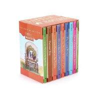 【外图原版】进口英文 Little House Nine-Book Box Set 小木屋系列9本盒装 英文原装
