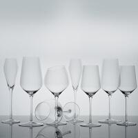 醉鹅娘 水晶星环杯红酒杯勃艮第杯波尔多杯香槟杯水杯2支礼盒装