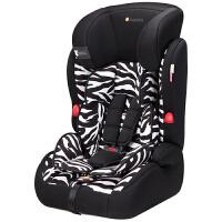 【当当自营】英国zazababy婴儿安全座椅 宝宝用车载座椅 汽车儿童安全座椅9个月-12岁 斑马纹