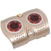 朗悦-617电动 滚轮 加热腰部腿部恒 温热疗足底按摩器洗脚盆