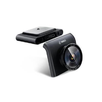 360行车记录仪智能后视镜导航云镜 S650 高清夜视倒车影像 语音操控导航测速 可以前后双录,需选购后摄像头