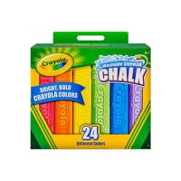 Crayola绘儿乐 51-2024 可水洗户外粉笔24色 当当自营