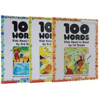 美国小学1-3年级必须掌握100个单词套装 Words Kids Need to Read 100个词汇套装 sigh
