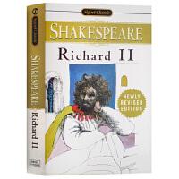 Richard II 理查二世 英文原版 英文版 Shakespeare 莎士比亚经典戏剧 英国历史剧 BBC 空王冠系