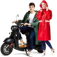 雨衣男女成人徒步户外防雨电动车摩托单人骑行加大加厚雨披