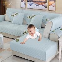 欧式沙发垫布艺简约现代沙发坐垫防滑沙发套罩全包�f能套四季通用