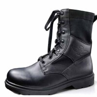 户外时尚流行06伞兵鞋特种兵作战靴陆战训练鞋库存飞行靴子军鞋 军迷用品